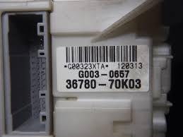 used fuse box suzuki wagon r 2012 dba mh23s be forward auto parts used fuse box suzuki wagon r 2012 dba mh23s be forward auto parts