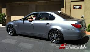 BMW 5 Series with Vertini Hennessey Wheels by Element Wheels in ...