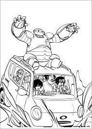Big Hero 6 Coloring Pages On Coloring Bookinfo