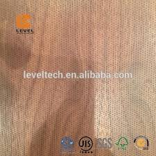 0 5mm Drill Hole Veneer Micro Perforated Wooden Acoustic Panels Mdf