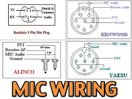 11 most popular mic wiring diagrams including azden alinco icom 11 most popular mic wiring diagrams including azden alinco icom kenwood yaesu astatic cobra sadelta turner microphens diagrams and pin end views