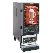 Vending Machine Enclosures Impressive Bunn SET4848 FMD48 BLK Fresh Mix Cappuccino Espresso Machine