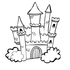 Small Picture Castle colouring pages Princess castle