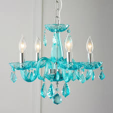 well liked turquoise crystal chandelier lights inside color crystal mini chandelier gallery 6 of 15
