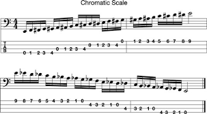 how to read bass sheet music how to read chunks and intervals in music to play the bass guitar