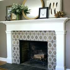 mosaic tile fireplace. Beautiful Tile Mosaic Tile Fireplace Surround Limited Our New Gray Around Grey Subway Throughout Mosaic Tile Fireplace T