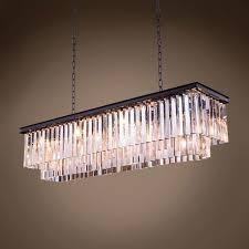 outdoor winsome odeon glass fringe rectangular chandelier 4 502607 01 glamorous odeon glass fringe rectangular chandelier