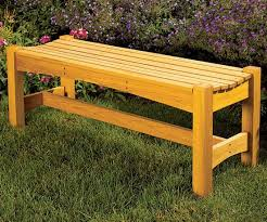 Small Picture Free garden bench woodworking plan