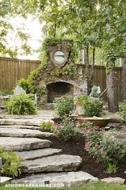 Garden designing was never easier and faster. European Rendition At Home In Arkansas Backyard Fireplace Outdoor Fire Backyard