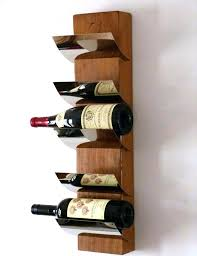 large wall mounted vertical wood wine rack wall mou wall