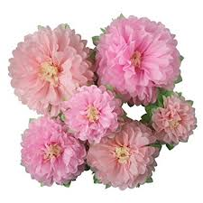 Paper Flower Background Mybbshower Pinks Paper Flowers Nursery Home Wall Decoration Bridal Baby Shower Wedding Archway Background Pack Of 6