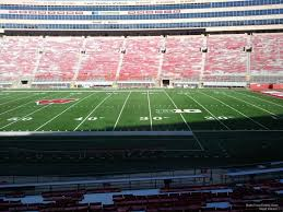 Wisconsin Camp Randall Seating Chart Camp Randall Stadium Section D Rateyourseats Com