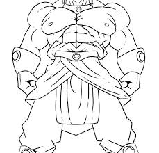 Dragon Ball Z Printable Coloring Pages Kryptoskoleninfo