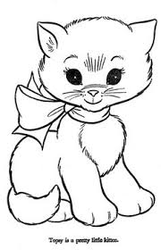 Small Picture Cats and Kitten Coloring Pages 34 Kids Pinterest Cat Free