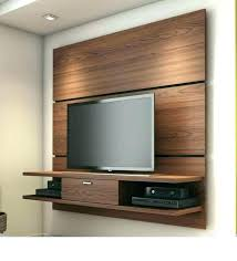 floating wall tv stand diy mount television mounted unit units outstanding stands stan