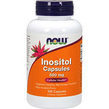 NOW <b>Inositol Capsules 500 mg</b> 100 caps 0475 | Walmart Canada