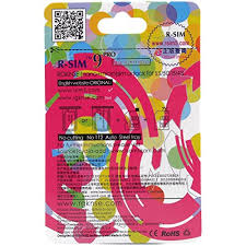 Genuine R Sim 9 Pro For Iphone 5 And 4s Ios 8 1 2 See