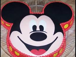 Mickey Mouse Cake How To Make Icing On Cake How To Decorate A
