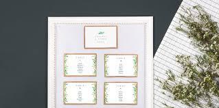 Table Number Chart Wedding Rosemood Blog Diy Wedding Table Plan