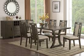 Rubber Wood Dining Set In Earthy Grey Hues Shop For Affordable