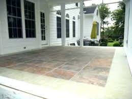 screened porch flooring ideas great front intended for tile decorations 2