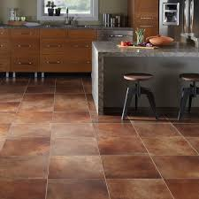 Marble Kitchen Flooring Flooring Ideas Brown Marble Look Vinyl Floor Tiles For Kitchen