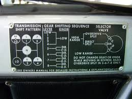 15 Speed Shift Pattern Unique Chrome Shift Levers Back In The Day