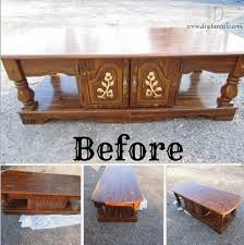 a simple makeover for a 10 coffee table diy danielle