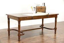vintage office desk. walnut traditional office or library table writing desk 1930u0027s vintage g