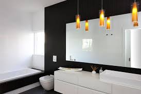 modern bathroom colors 2014. Unique 2014 View In Gallery Modern Minimalist Bathroom Black And White With  Brilliant Lighting And Bathroom Colors 2014 A