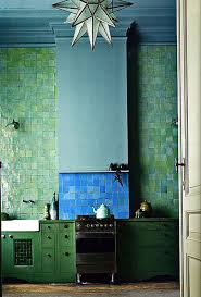 Teal Kitchen Color Clash Emerald And Teal Emily Henderson