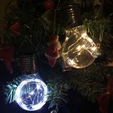 Us 998 2 Satz Outdoor Solar Power Led Lampe 5 Leds Kronleuchter Wand Dekorative Lampe Navidad Ausgefallene Beleuchtung Für Hochzeit Dekoration In