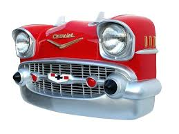 vintage car wall decor red front end wall decor vintage race car room decor