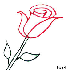Easy To Draw Roses Bring Out The Artist In Them How To Draw Roses For Kids In 2019