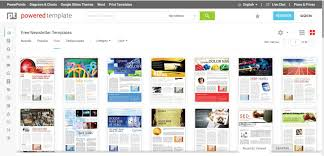 Free Newsletter Templates For Print And Web