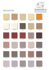 Sienna Colour Chart 2019