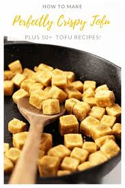These types of tofu can be pressed to remove even more of the water. How To Make Perfectly Crispy Tofu My Darling Vegan