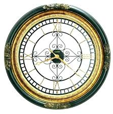 decorative outdoor wall clocks with temperature clock large giant oversized australia