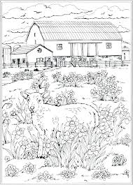 Nature Coloring Pictures Nature Coloring Pages Printable Amazing