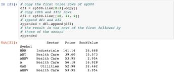python dataframe append rows