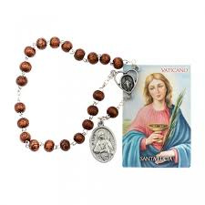saint lucy devotional rosary