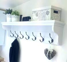 Coat Rack And Shelf New Best Coat Rack Coat Rack Ideas Entryway Hooks And Shelves Best Wall