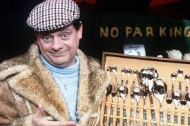 david jason as del boy from only fools and horses