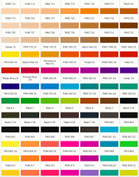 Color Chart With Names Pantone Color Chart Where Did The Name Come From
