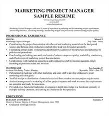link to an marketing project manager resume