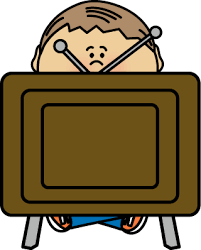 boy watching tv clipart. watching tv boy tv clipart r