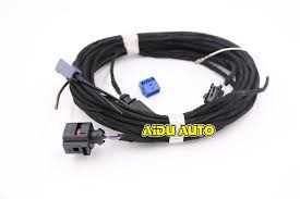 online get cheap rear wiring harness aliexpress com alibaba group oem rear view camera reversing logo camera cable wire harness for vw golf 7 mk7 vii