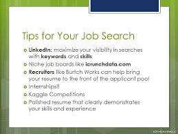 Tips For Job Seekers Job Search Tips For Students Pursuing Analytics And Data Science