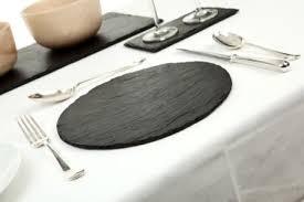 round slate place mat slate table mat l2
