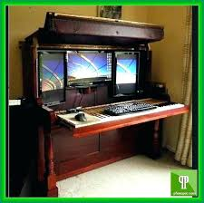 related ideas mobel oak. Hidden Computer Desks Desk Ideas Cabinet Mobel Oak . Related